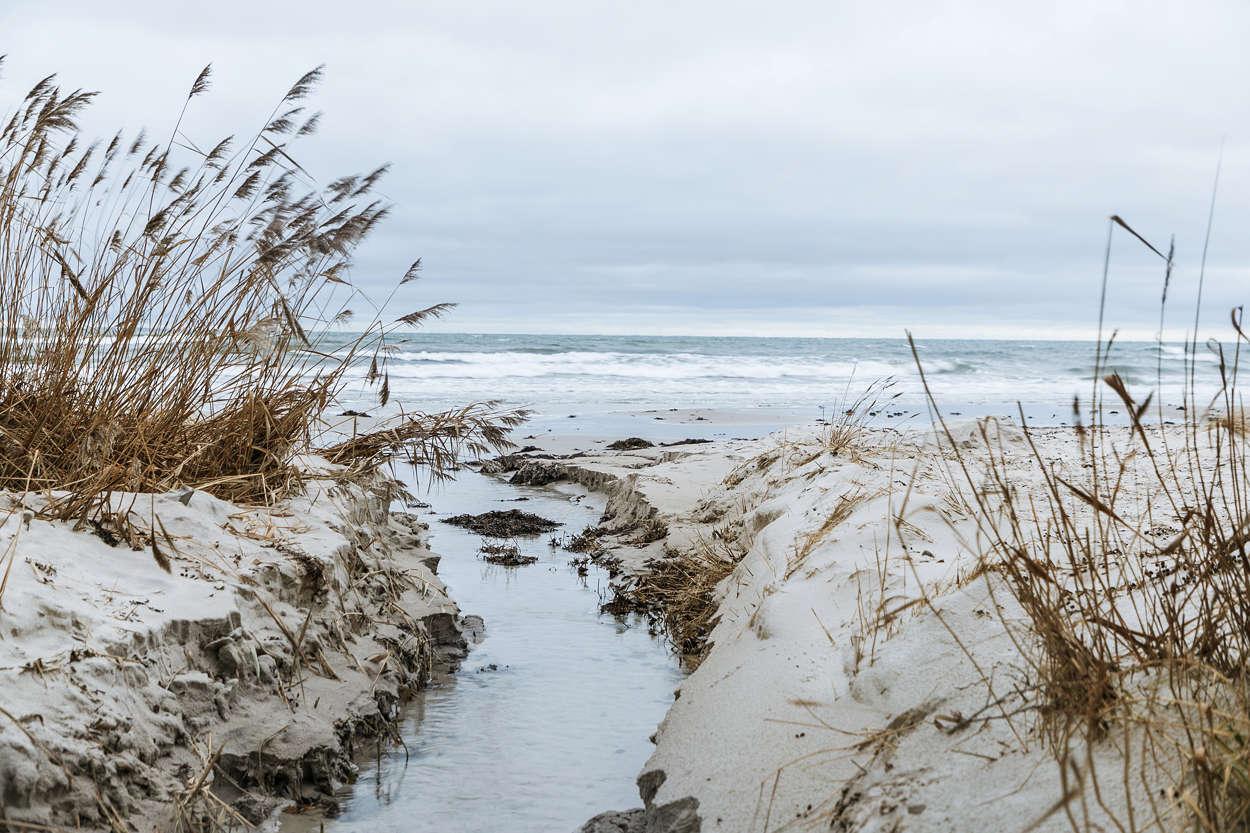 Kyhls Strand vintertid