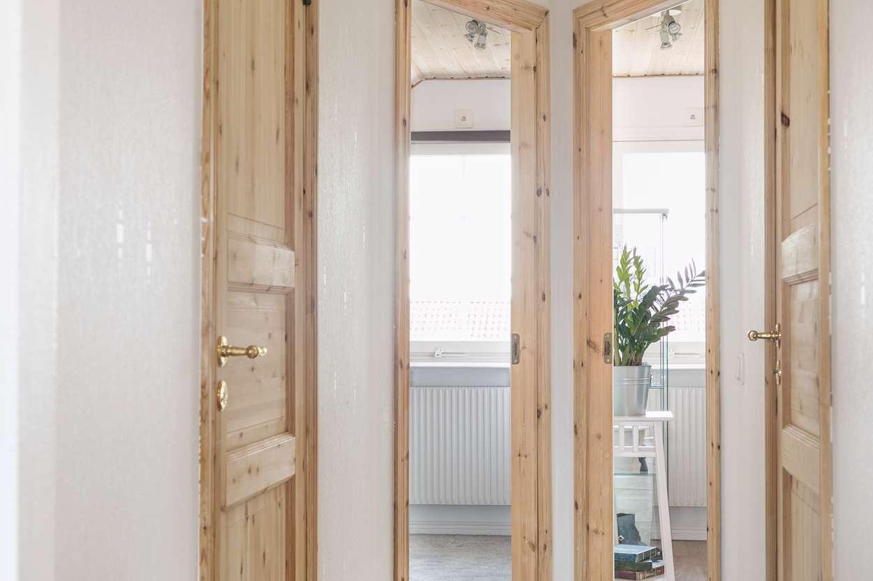 Smart lösning för att skapa två spännande sovrum!