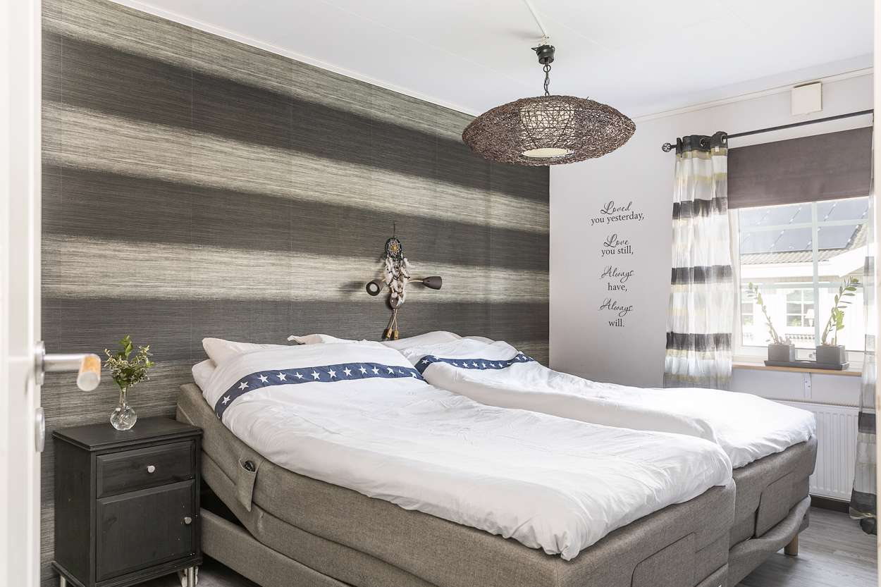 Härligt stort och generöst sovrum