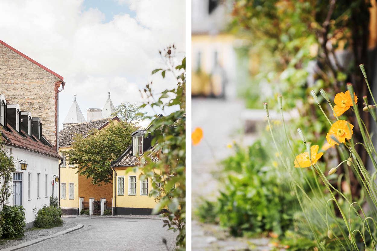 Adelgatan, mot Lundagård.