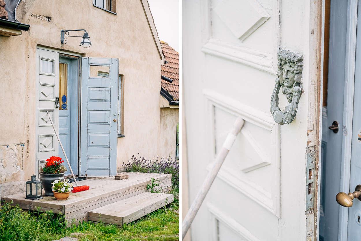 med dörr från 1600-talet