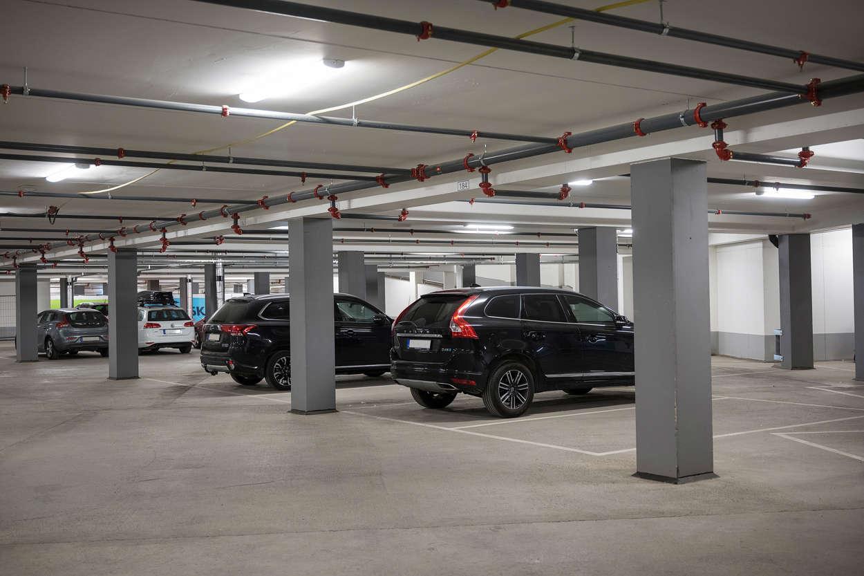 Föreningens garage