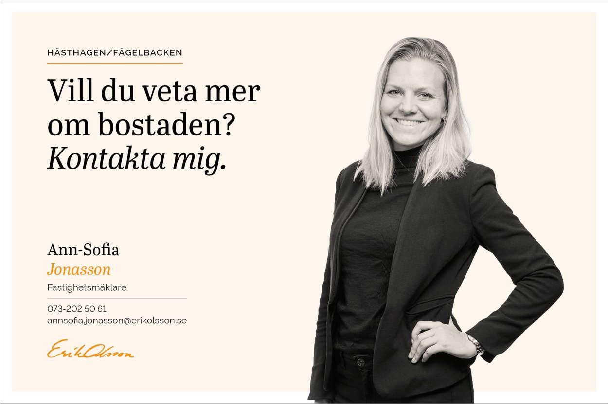 Kontakta mig - Ann-Sofia Jonasson