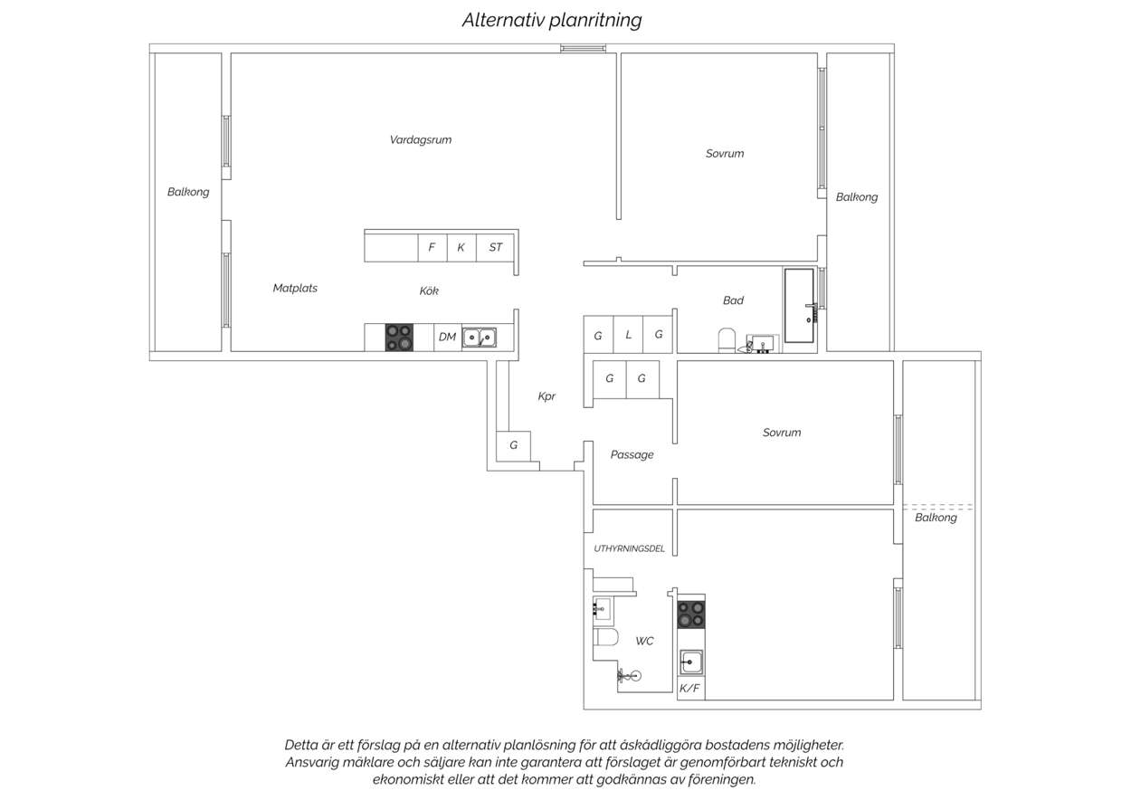 Alternativ planritning 2