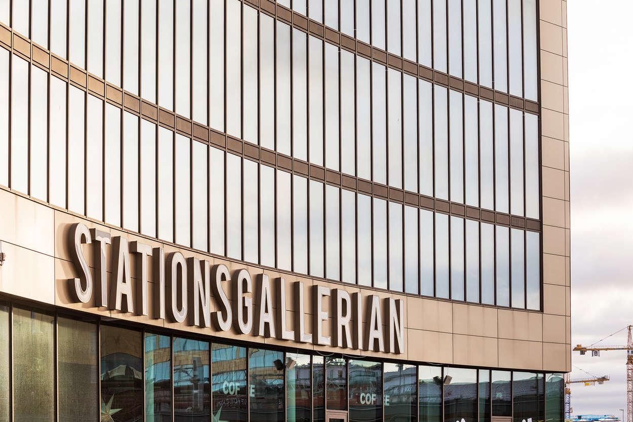 Uppsala C Stationsgallerian