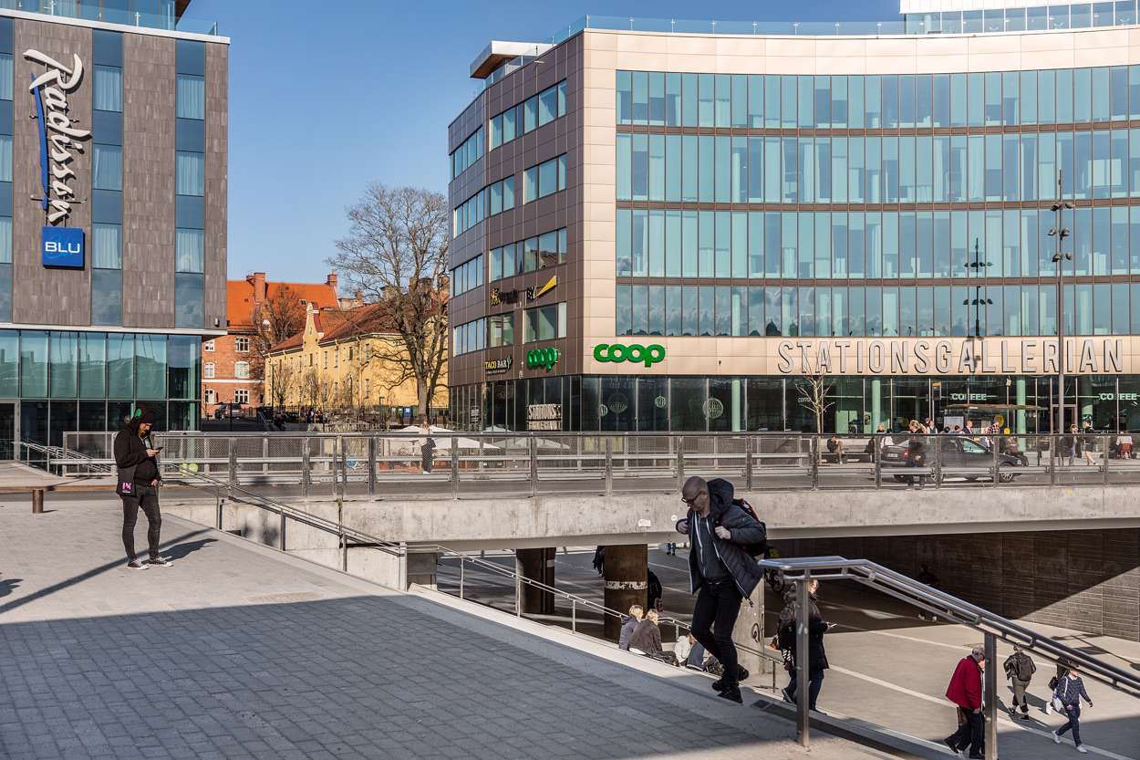 Uppsala C Stationsgallerian_Radisson SAS