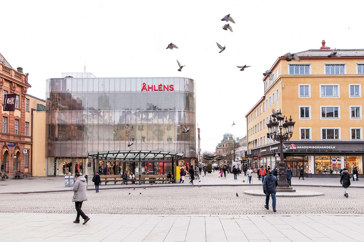Uppsala C StoraTorget_Åhlens