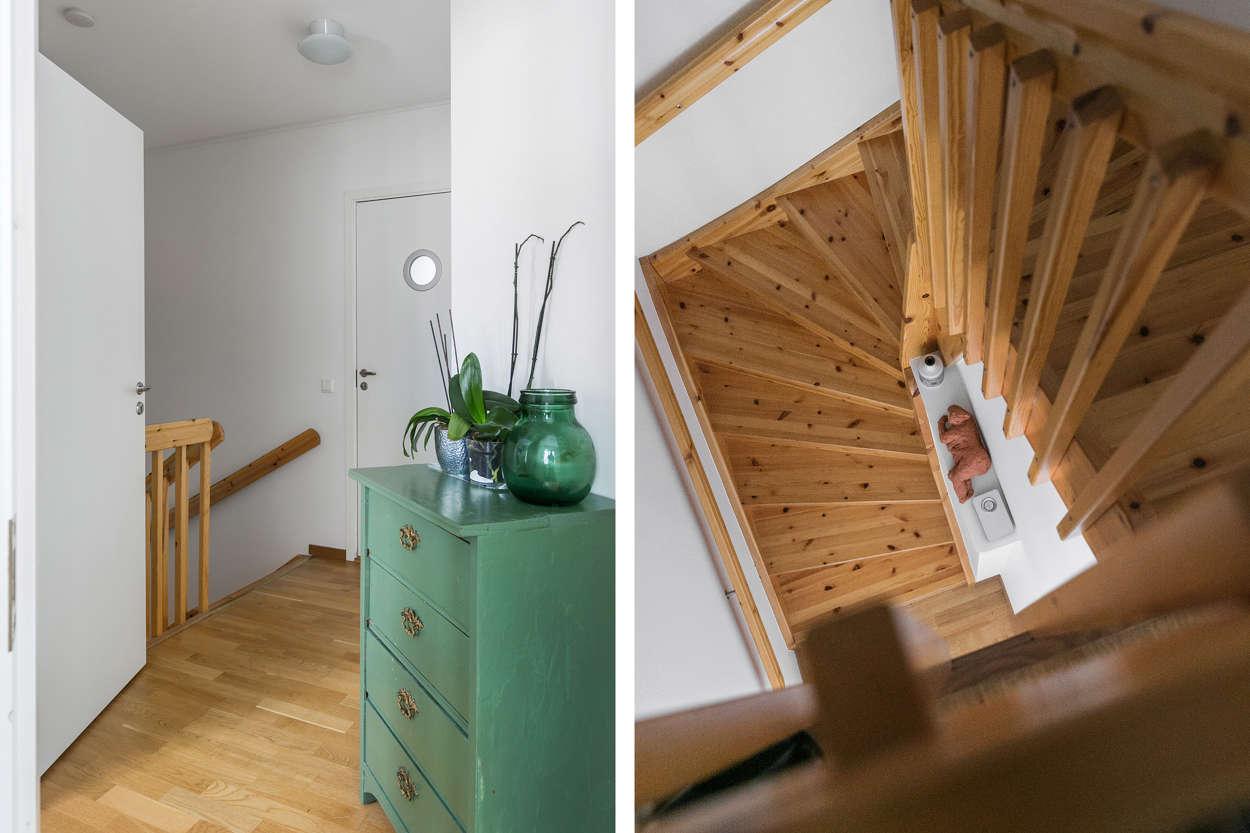 Trappan till ovanvåningen