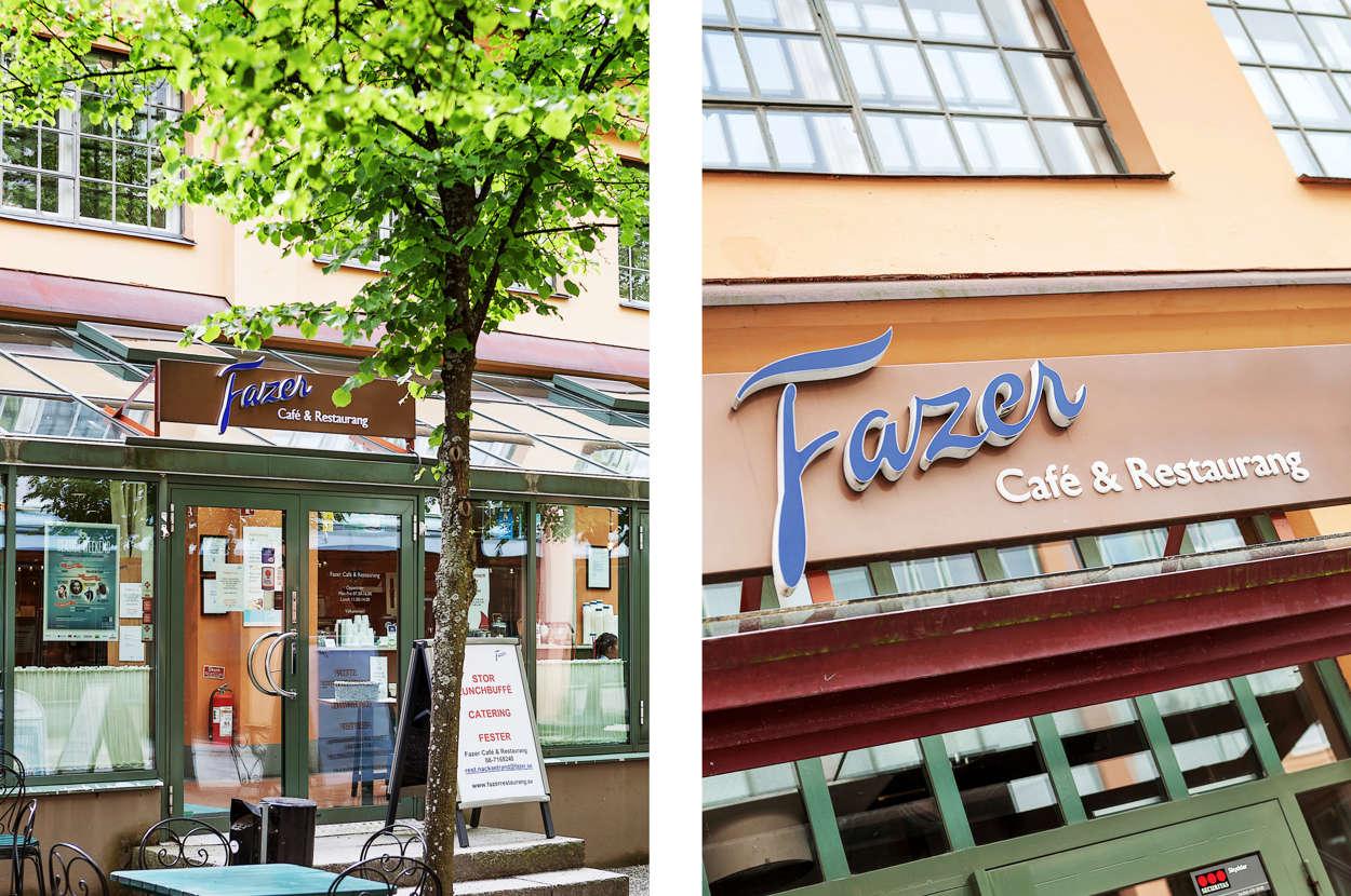 Flera restauranger i Nacka Strand