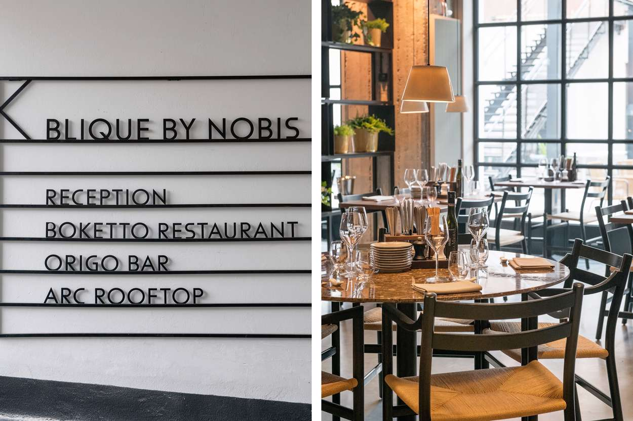 Blique By Nobis Rooftop bar
