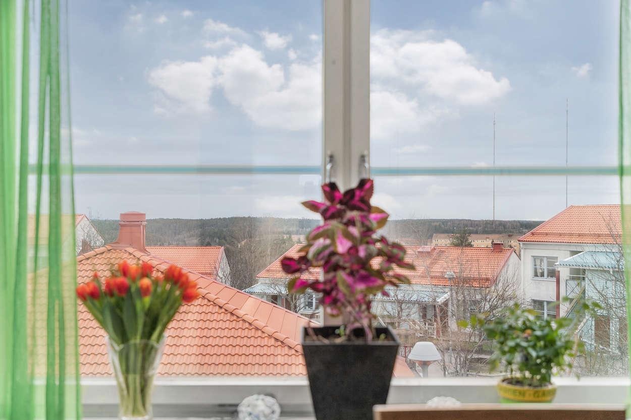 Utsikt över innergården