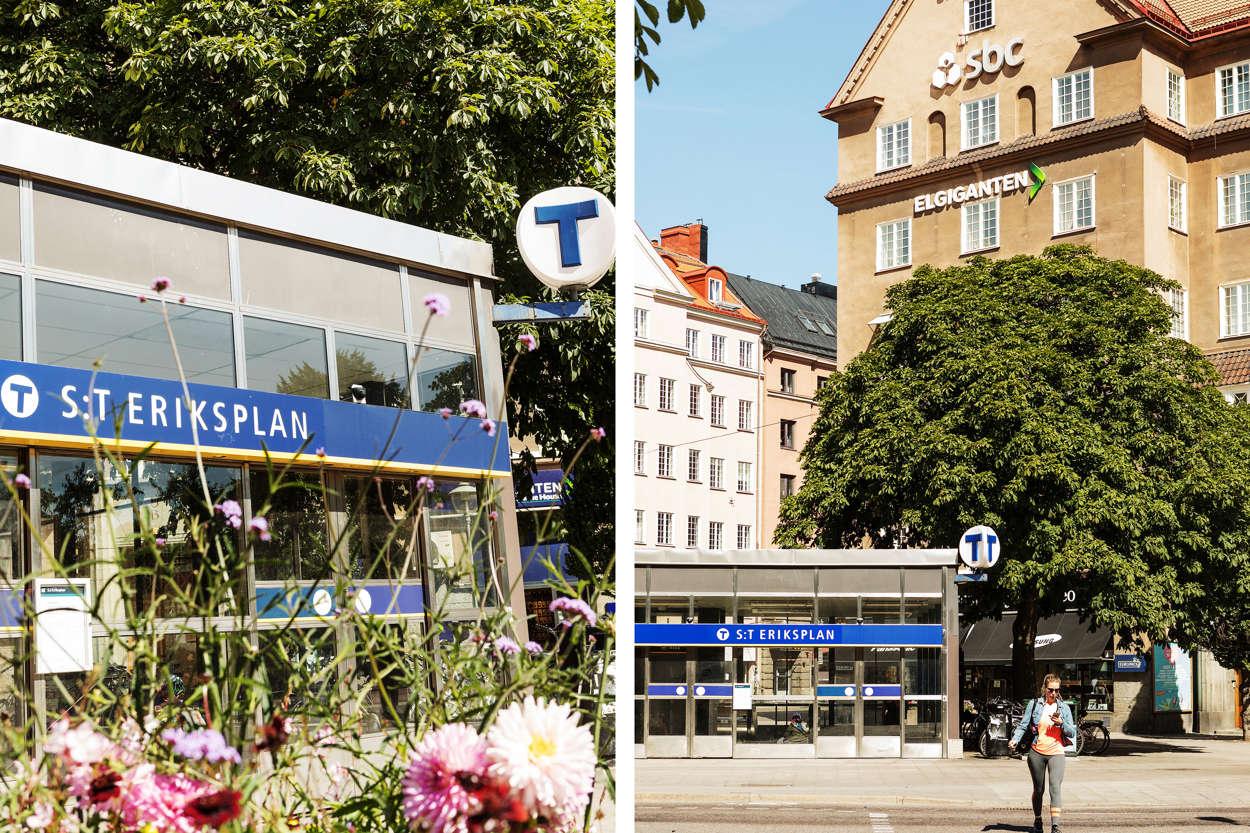 Tunnelbana St Eriksplan