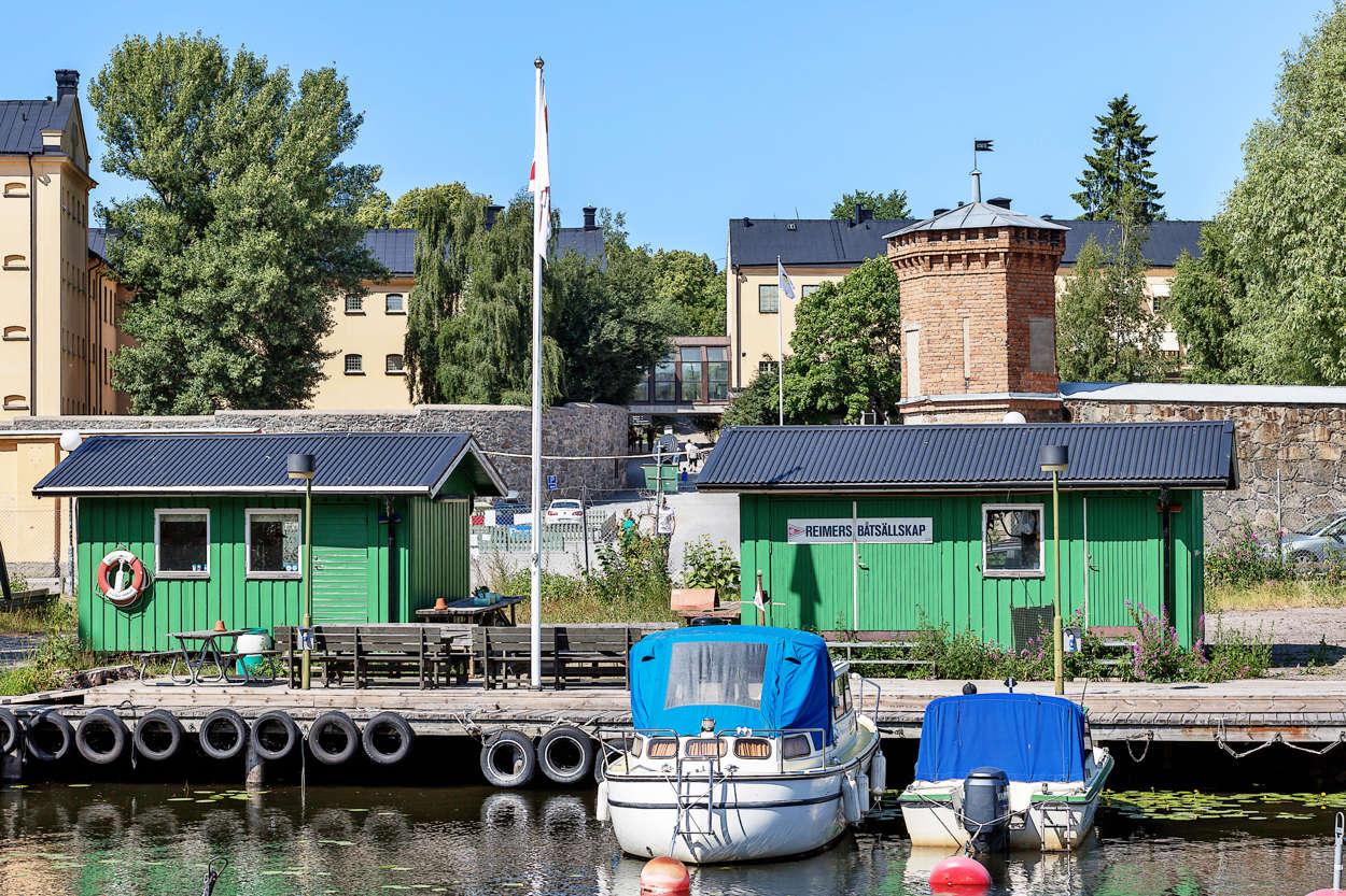 Båtklubb på Reimersholme