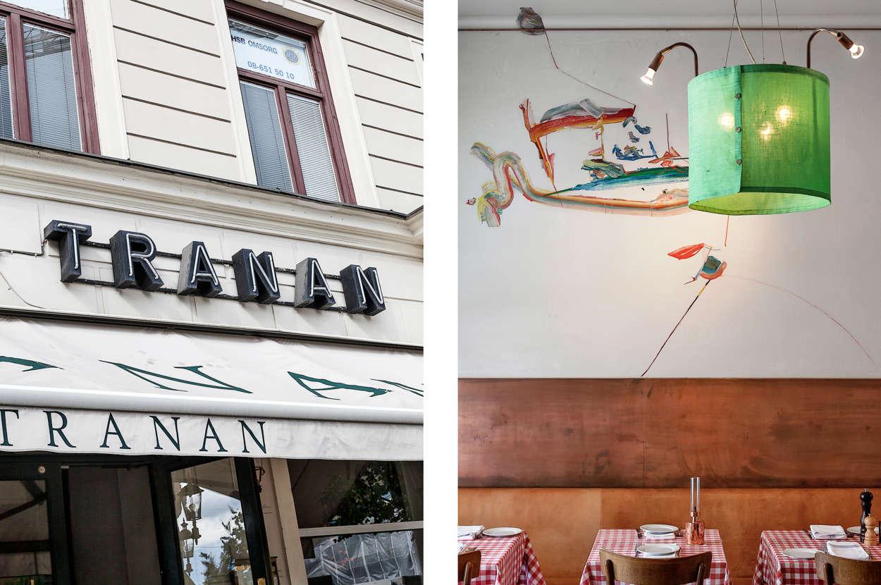 Café Tranan restaurang, Odenplan