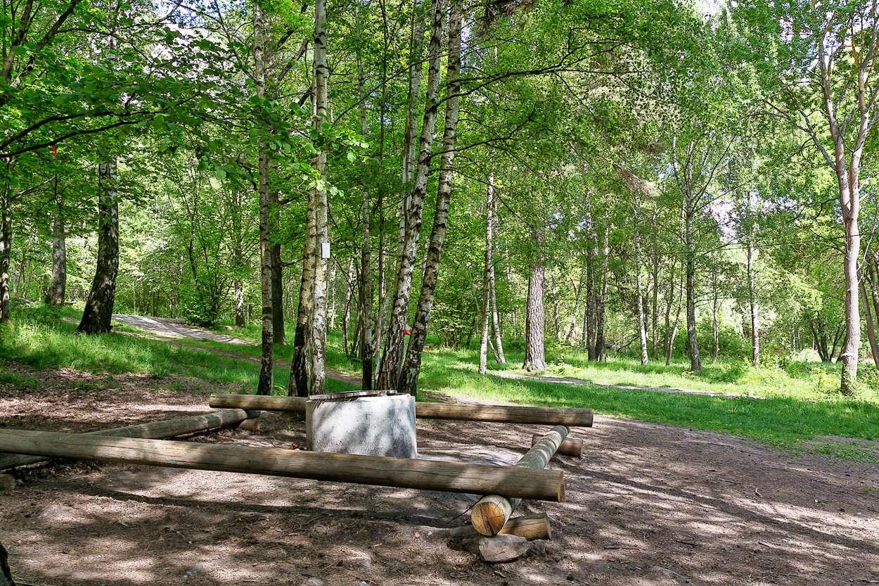 Njut av närheten till Ursviks motionsområde