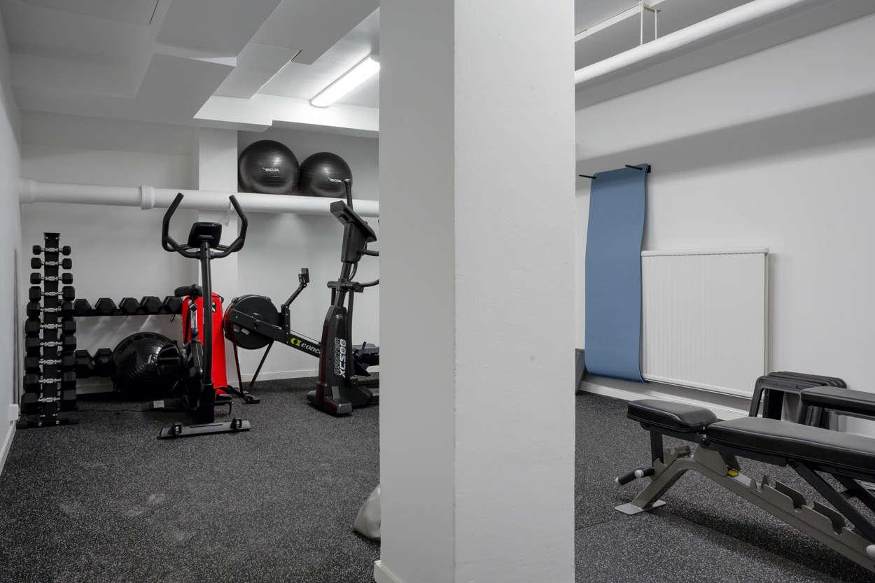 Solid brf med eget gym