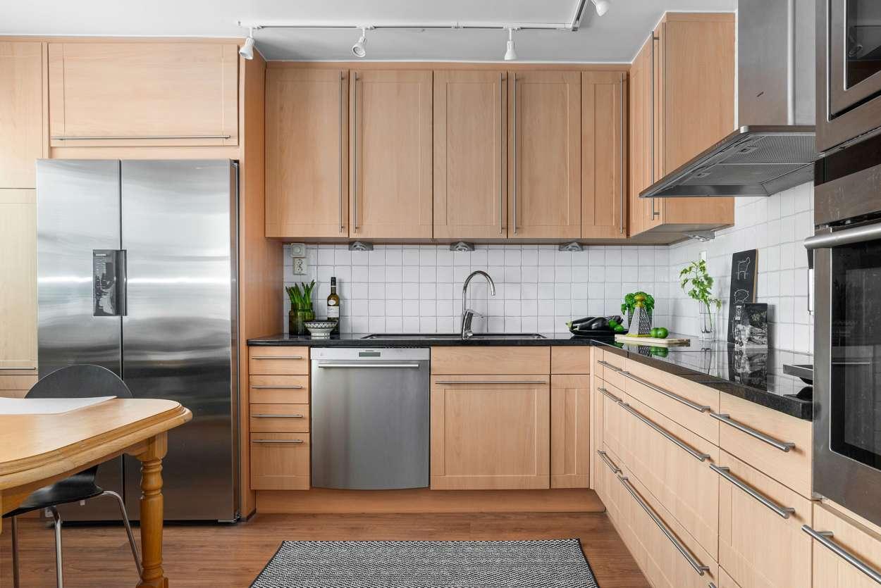 Bra avställningsytor i köket