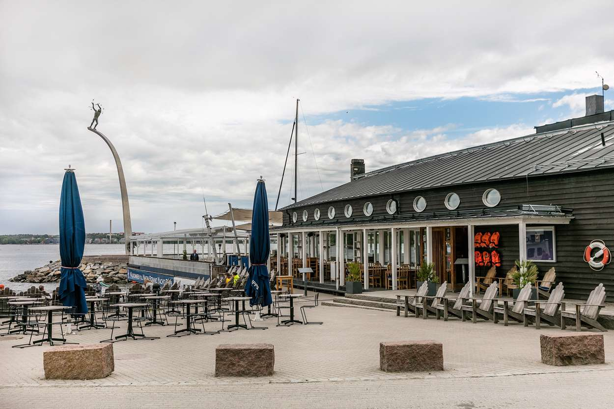 Restaurang J i Nacka Strand