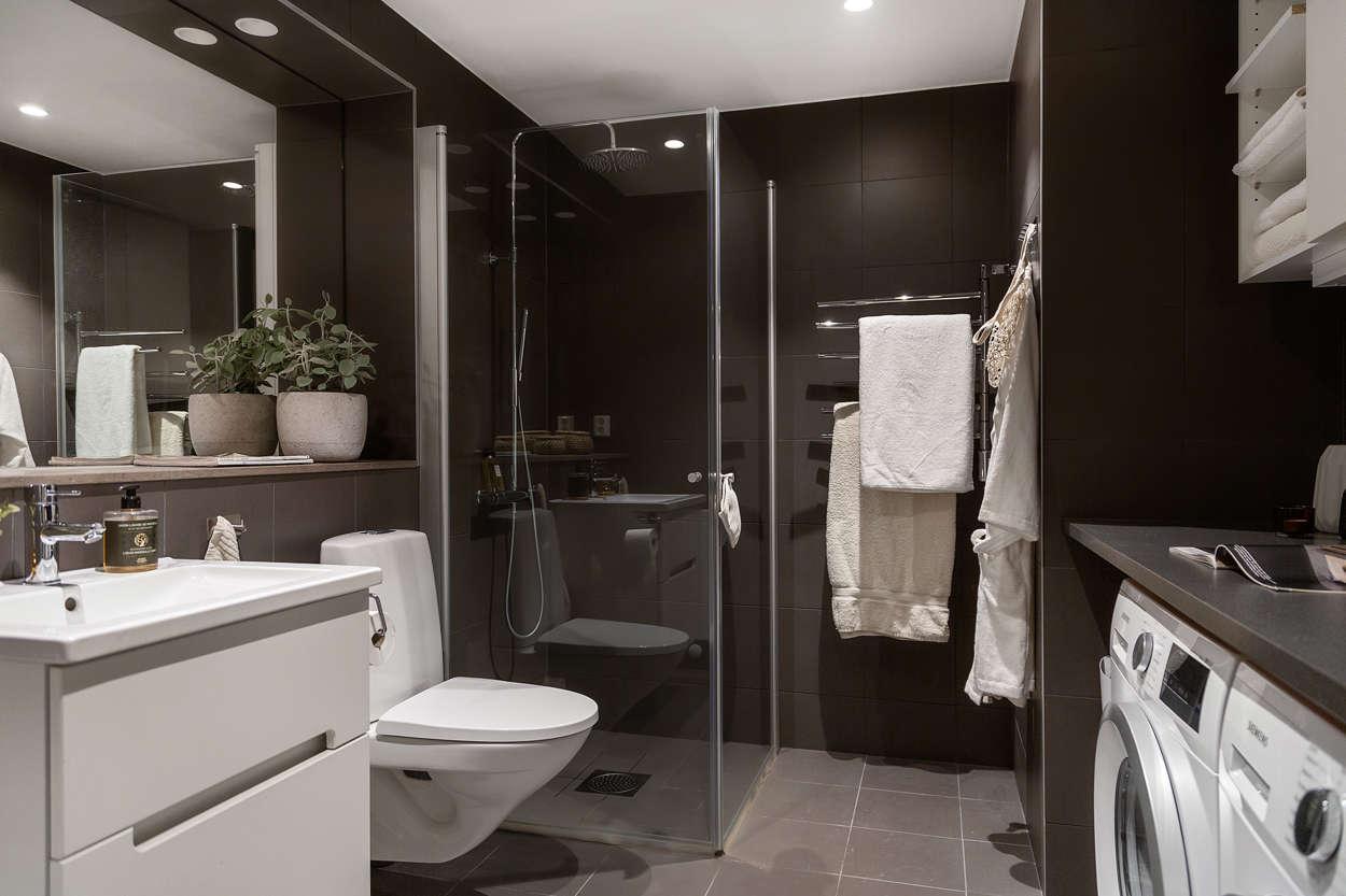 Stilrent badrum