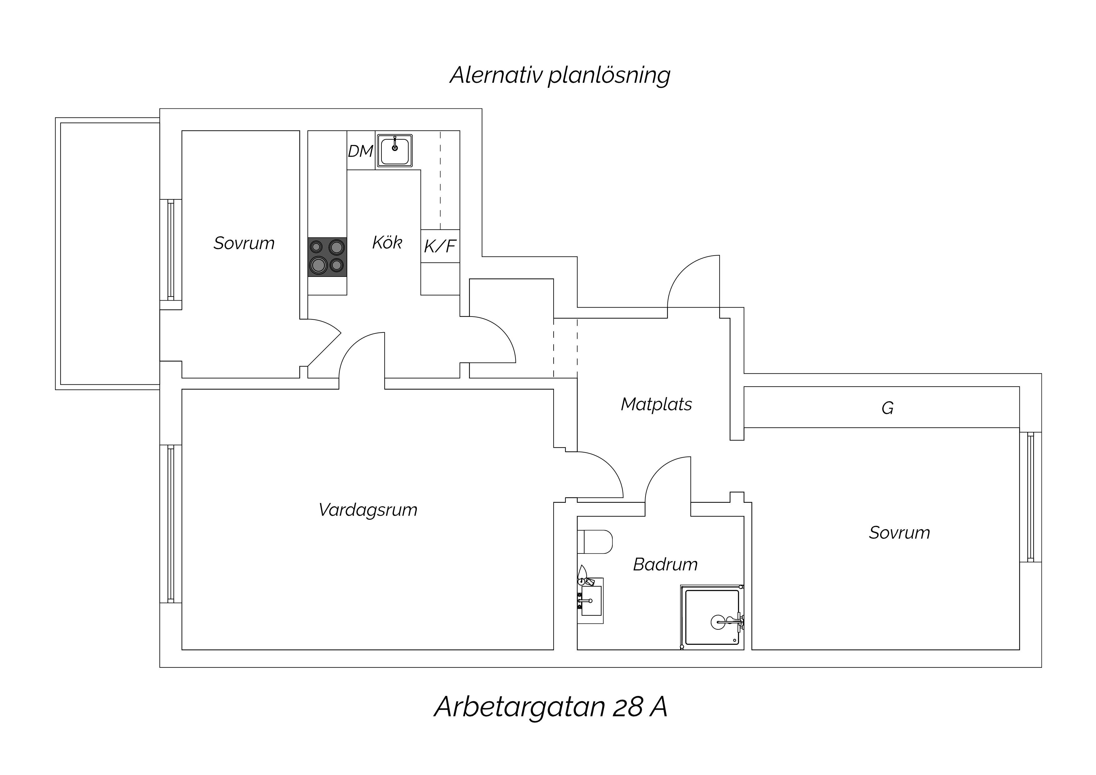 Alternativ PL Arbetargatan 28 A