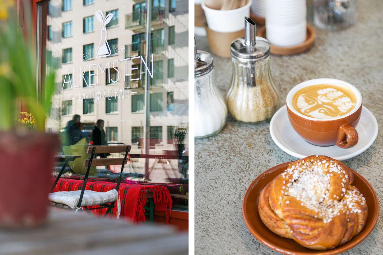 Stans bästa kaffe finns enligt många på Kafé Alkemisten