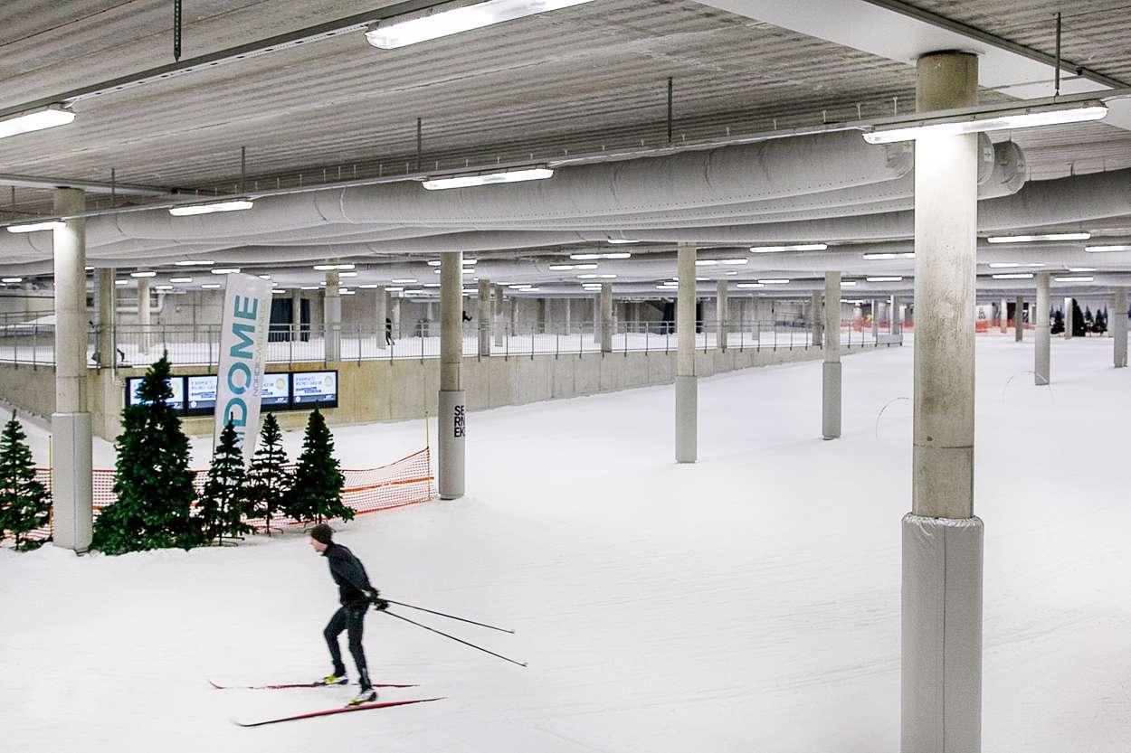 Skidome i Prioritet Serneke Arena