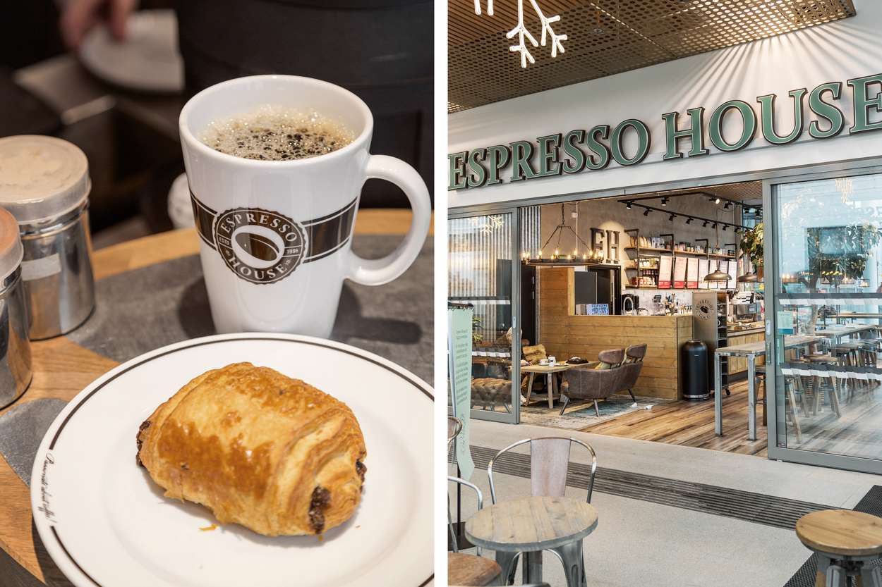 Espresso House Gamlestadens resecentrum