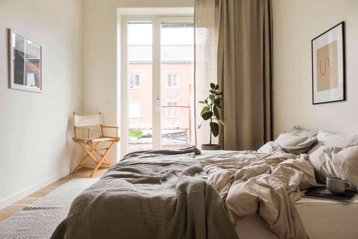 Master Bedroom i visningslägenhet