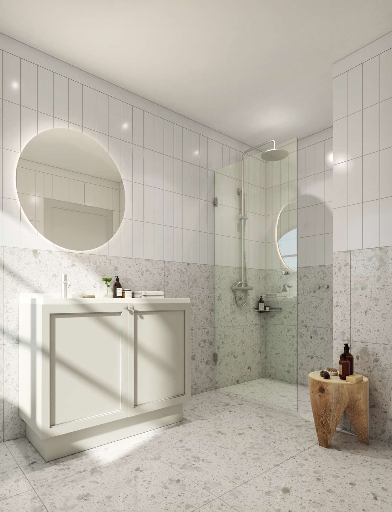 Final render bathroom