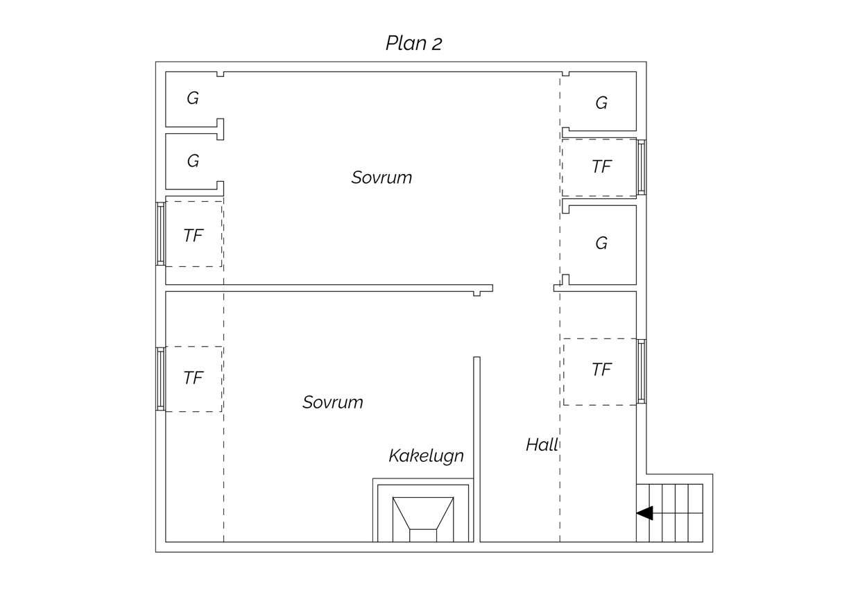 Rängsandsvägen 2A plan 2