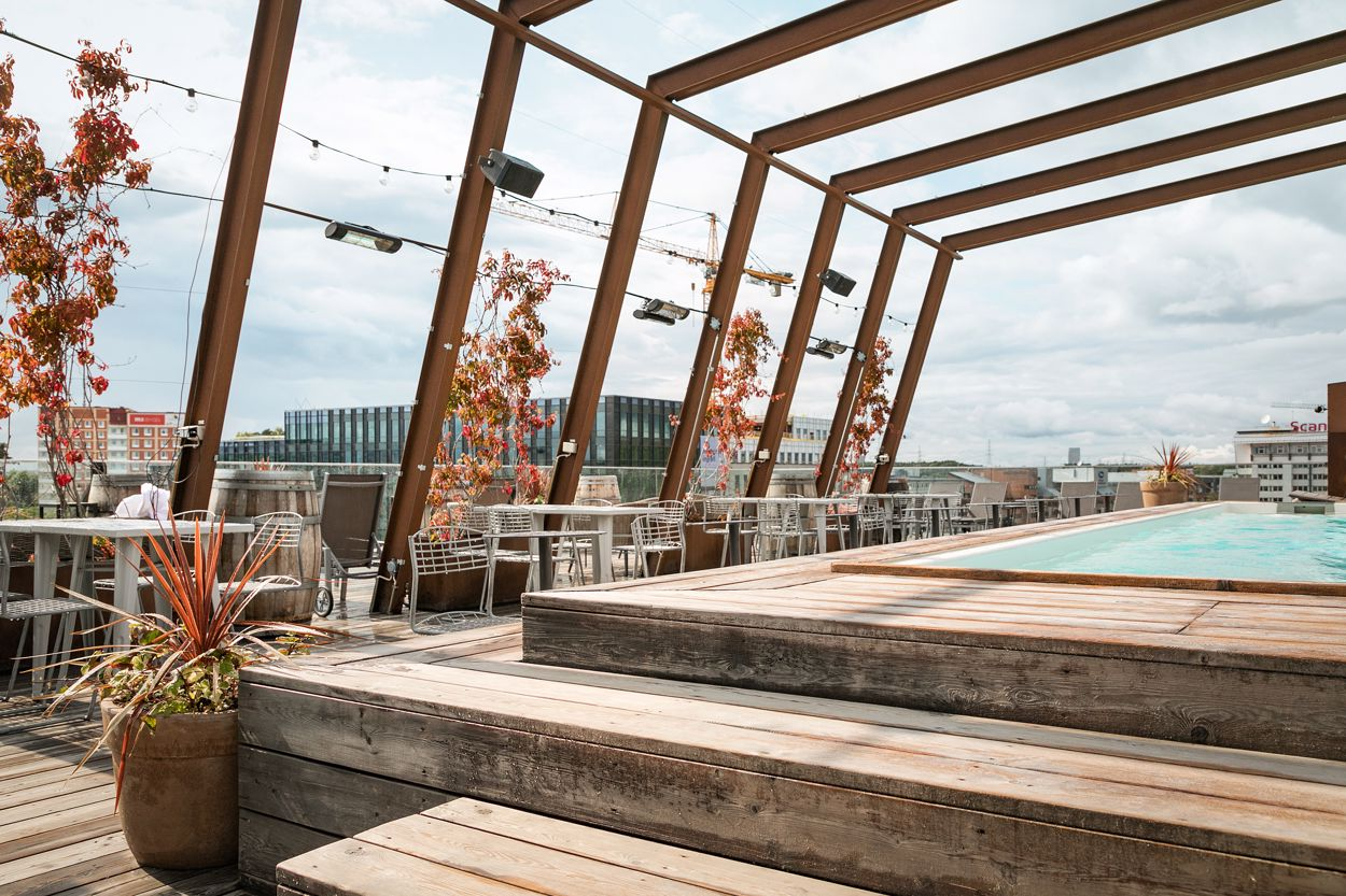 Rootop - The Winery Hotel