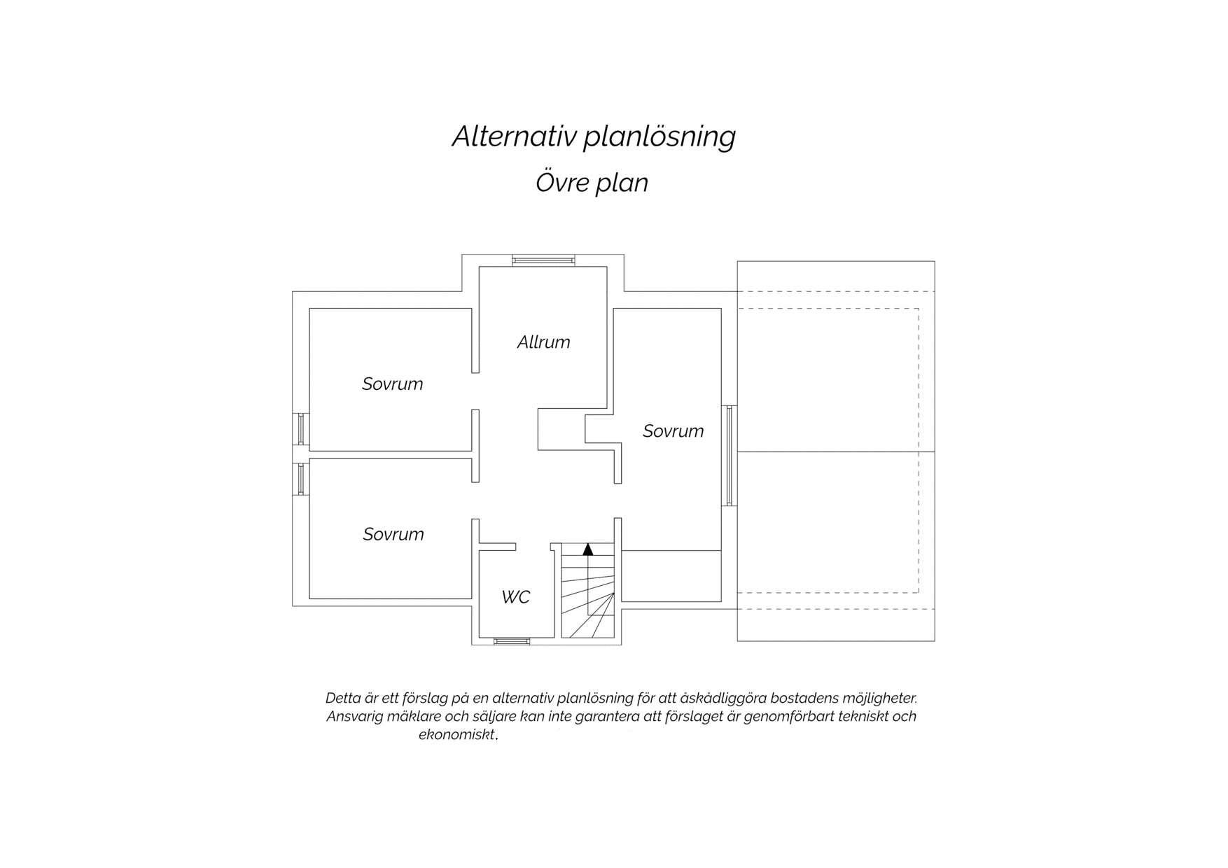 Alternativ planlösning