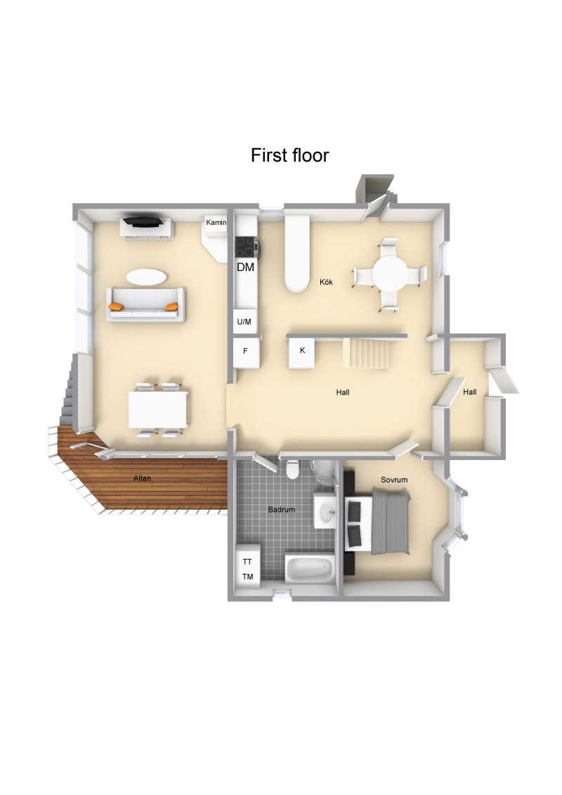 Första våningen
