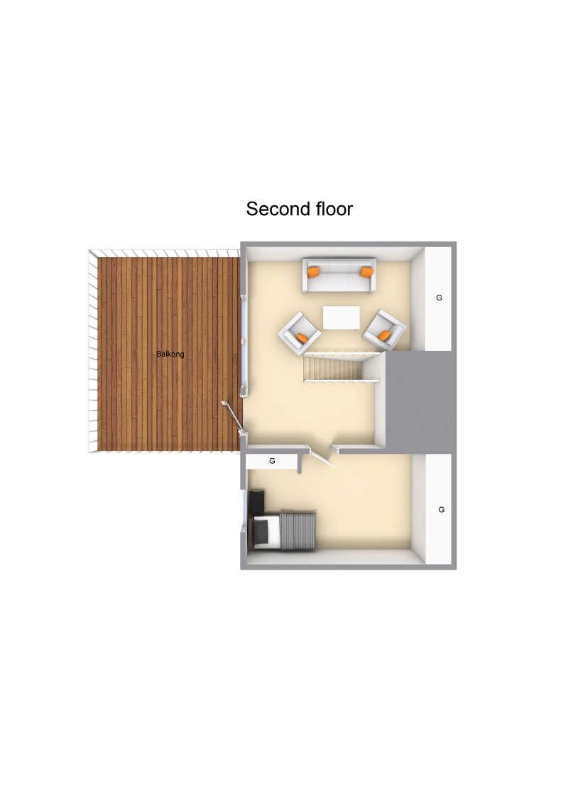 Andra våningen