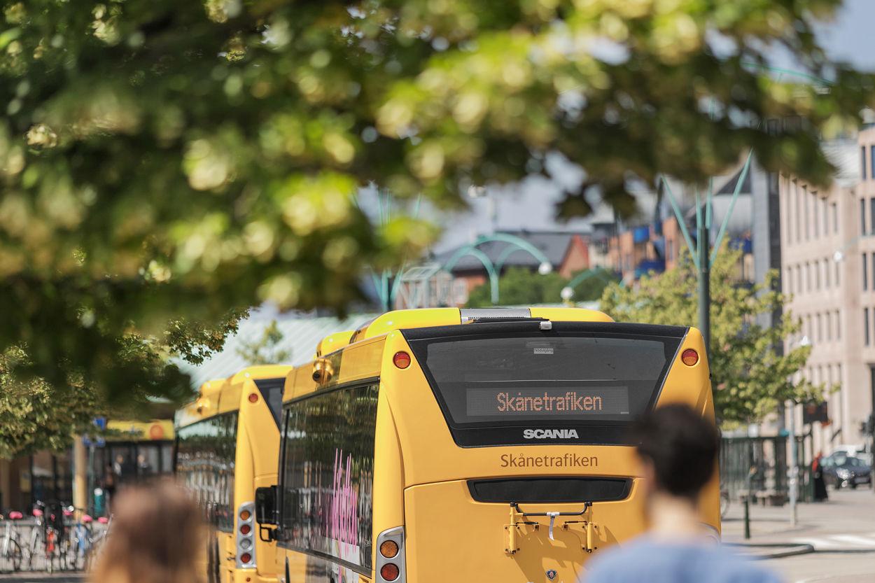 Granne med Södervärn busstation på andra hållet