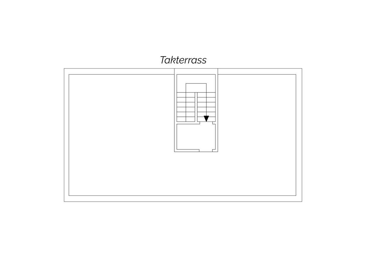 Planritning takterrass