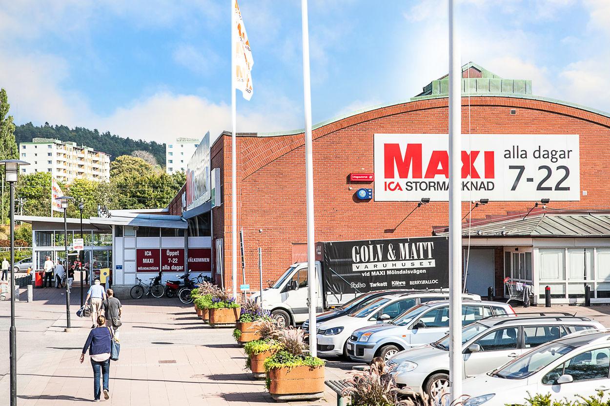 Välsorterade ICA Maxi