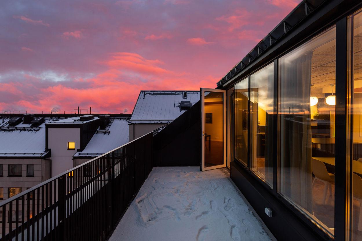 Föreningens samlingslokal - Terrassen