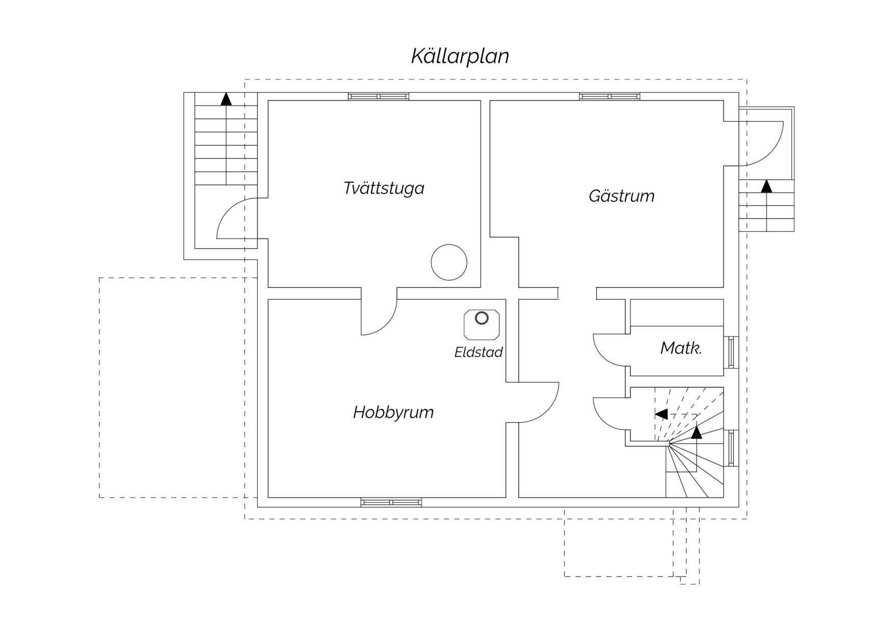 källare med ingång